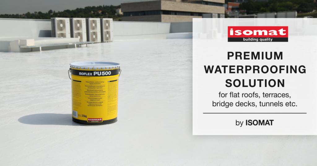 PU500 Premium waterproofing Flat Roof Coating