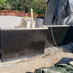Foundation Waterproofing with ISoflex-PU 560 BTF
