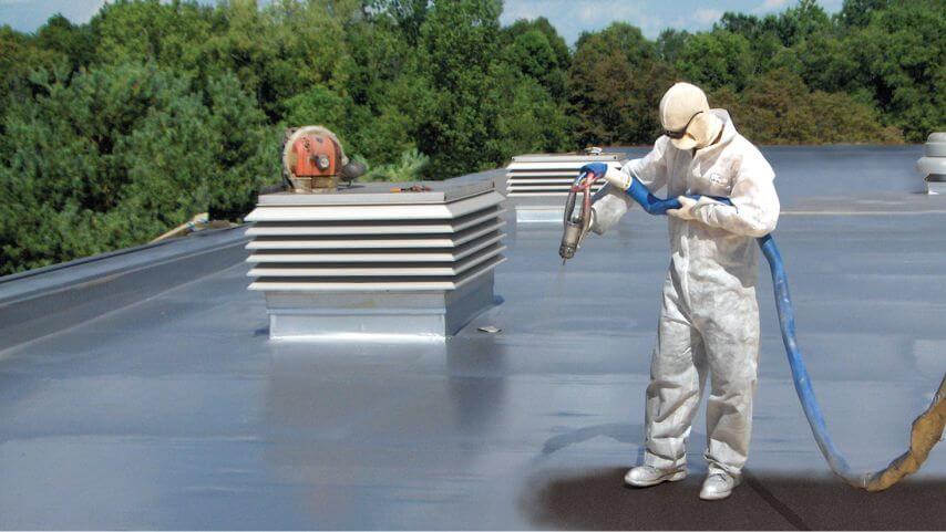 Flat roof coating Solution