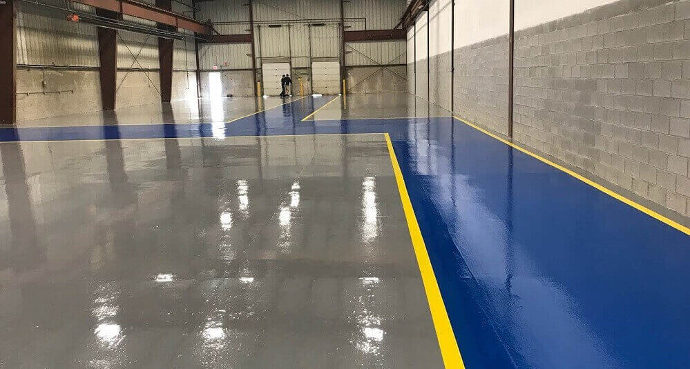 Polyurethane Industrial Floor Coating and solution