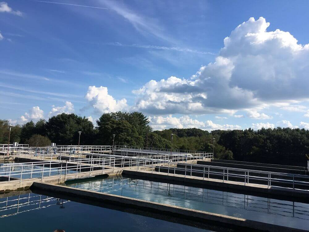 water treatment plant restoration with polyurea SIPP coating