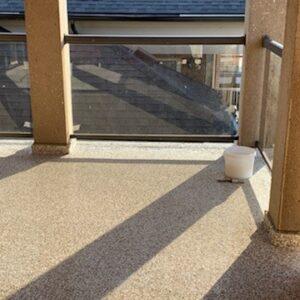 Balcony Deck coating