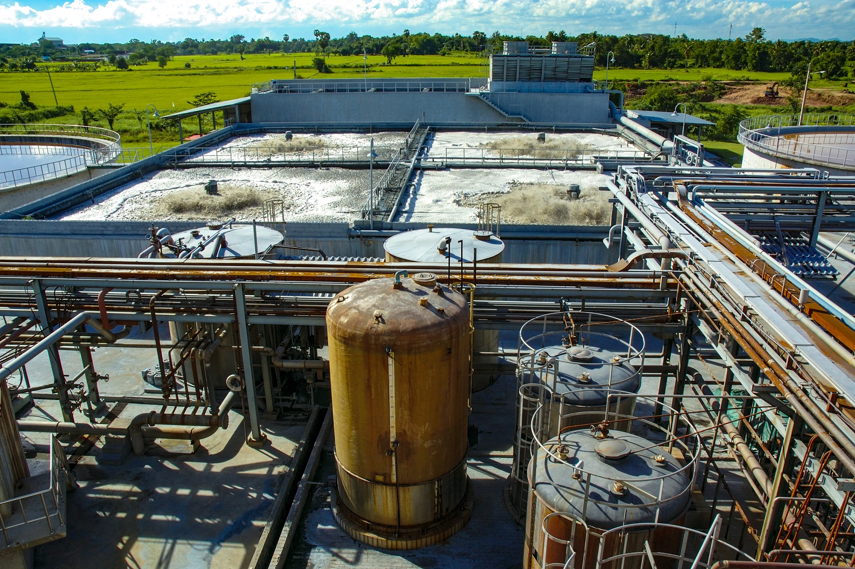High Quality Polyurea Coatings for Domestic Wastewater Treatment